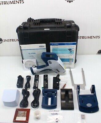 Bruker S1 Titan Handheld Xrf Spectrometer Portable X-ray Analyzer Soil Analysis