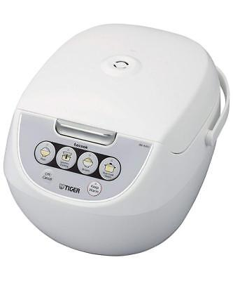 Tiger Corporation JBV-A10U-W 5.5-Cup Micom Rice Cooker with Commons Steamer and...