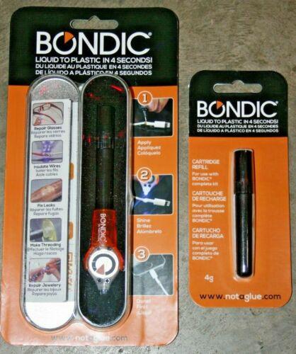 Bondic Repair Liquid Plastic Welder - with extra refill