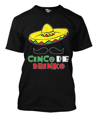Cinco De Drinko   Cinco De Mayo Drinking May 5Th  Mens T Shirt