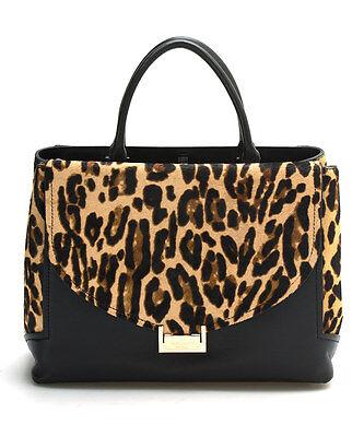 Kate Spade Taiden Miro Street Handbag NWT Leopard Calf Hair Classic MSRP $490