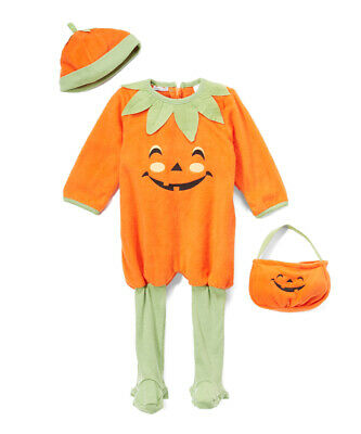 NWT Baby Grand Pumpkin Baby Girls Boys Halloween Costume 12 18 24 Months