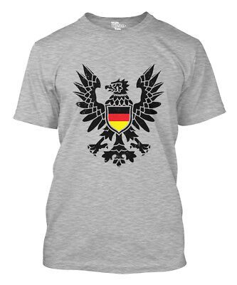 German Black Eagle - Coat of Arms Deutschland Oktoberfest Futbol Mens T-Shirt