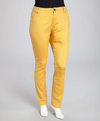 108 In Jeans - MYNT 1792 - TRIBECA PLUS SIZE 18 SKINNY JEAN IN HONEY NWT $108