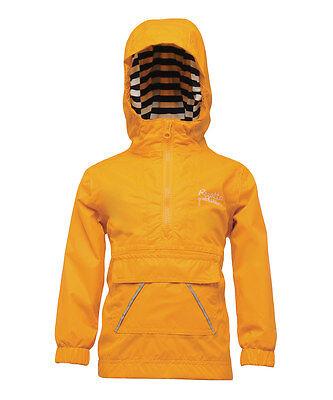 Regatta Sailor Jacket - Kids Waterproof Jacket In Old Gold (RKW117)