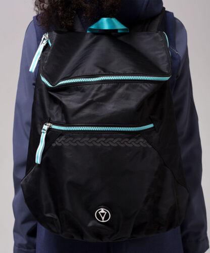 LULULEMON IVIVVA School to Studio Backpack Black AQUA Ikat Lightning Embossed