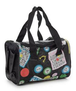 5 POCKET BINGO BAG (BLACK)