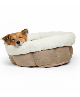 Cuddle Dog - Pawsh Wheat Jumbo Cuddle Cup Dog Bed  22