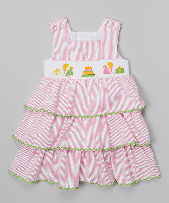 Spring Birthday Themes (Lil Cactus Seersucker Tiered Dress with Birthday Party Theme)