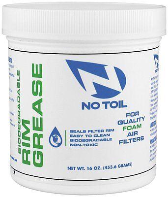 No Toil Rim Grease Tub 16 oz. Biodegradable Foam Air Filters & Box NT06 36070002