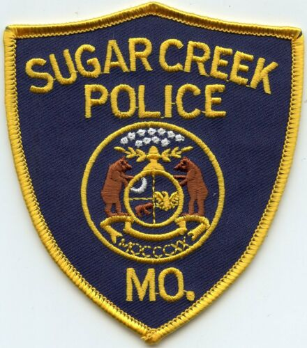 SUGAR CREEK MISSOURI MO POLICE PATCH