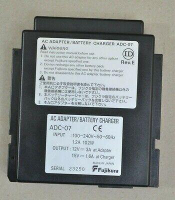 Fujikura Adc-07 Ac Adapter Fsm 16s16r30r40s Adc 07