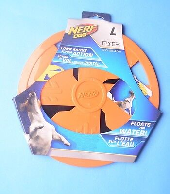 (Nerf Dog Flyer Water Rubber Disk-Dog Toy)