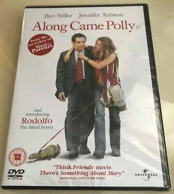 Along Came Polly DVD Jennifer Aniston 2004 Romantic Comedy - NEW SEALED DVD