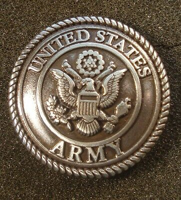 Conchos US Army Military Concho Leather