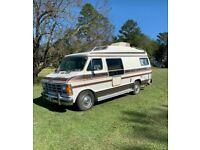 Vintage 1987 Dodge RAM Fiesta XRT Camper Van