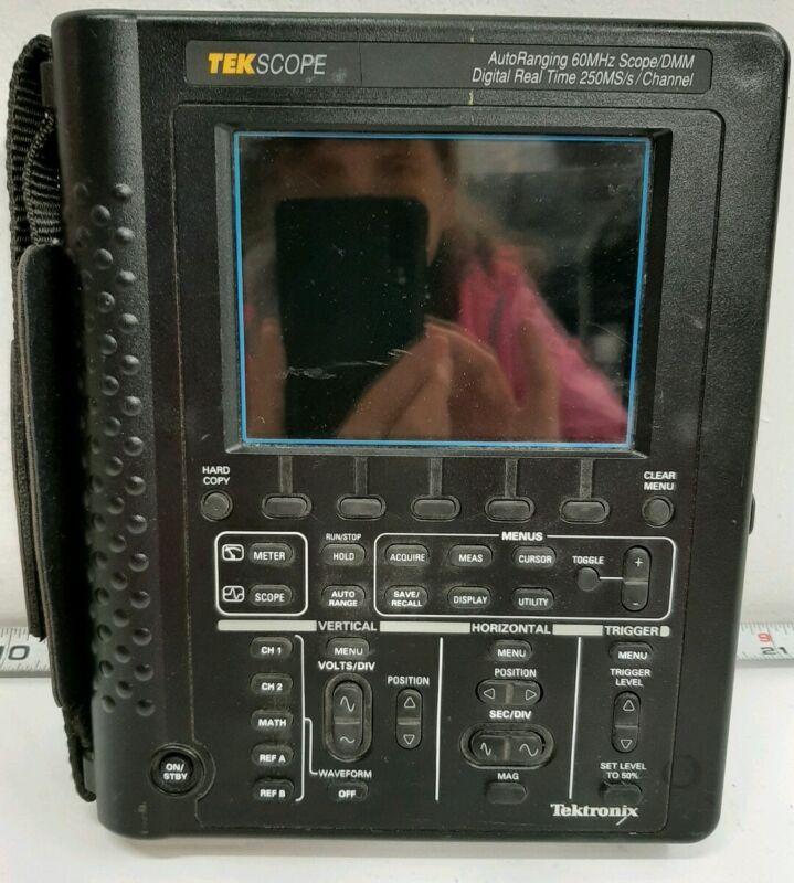 Tektronix TekScope RS-232 60MHz Dual-Channel Oscilloscope #F982