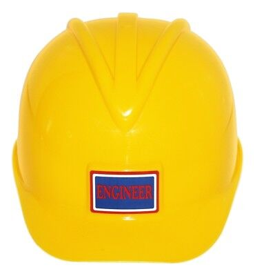 Adult Child Kids Deluxe Construction Hard Hat Toy Helmet Yellow Miner Costume (Kids Hard Hat)