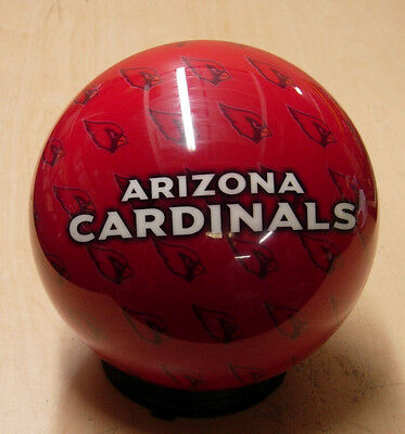 10 Bowling Ball Otb Viz-a-ball Rare 2010 Nfl Arizona Cardinals