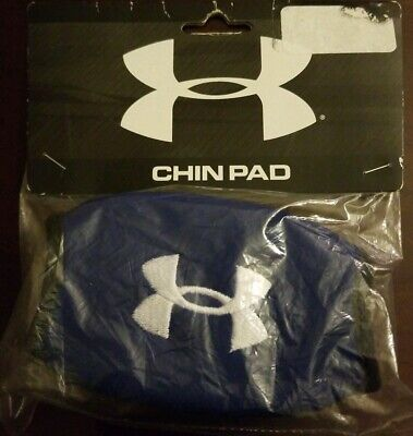 Under Armour Chin Pad - Unisex One Size - Royal Blue - Brand New Under Armour Chin Pad