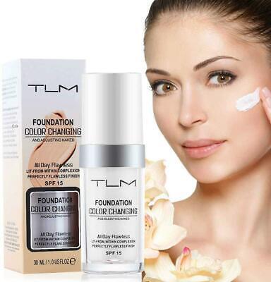 TLM Flawness Colour Changing Women Concealer Skin Matte Tone Foundation Makeup