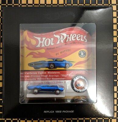 2018 Hot Wheels RLC 50th HWC Original 16 Custom Pontiac Firebird 1:64 Limited