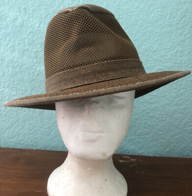 Henschel Men's crushable Breezer Mesh Safari Hat 4310 - 82 safari packable small