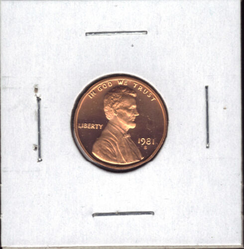 1981-S TYPE 1 PROOF LINCOLN CENT