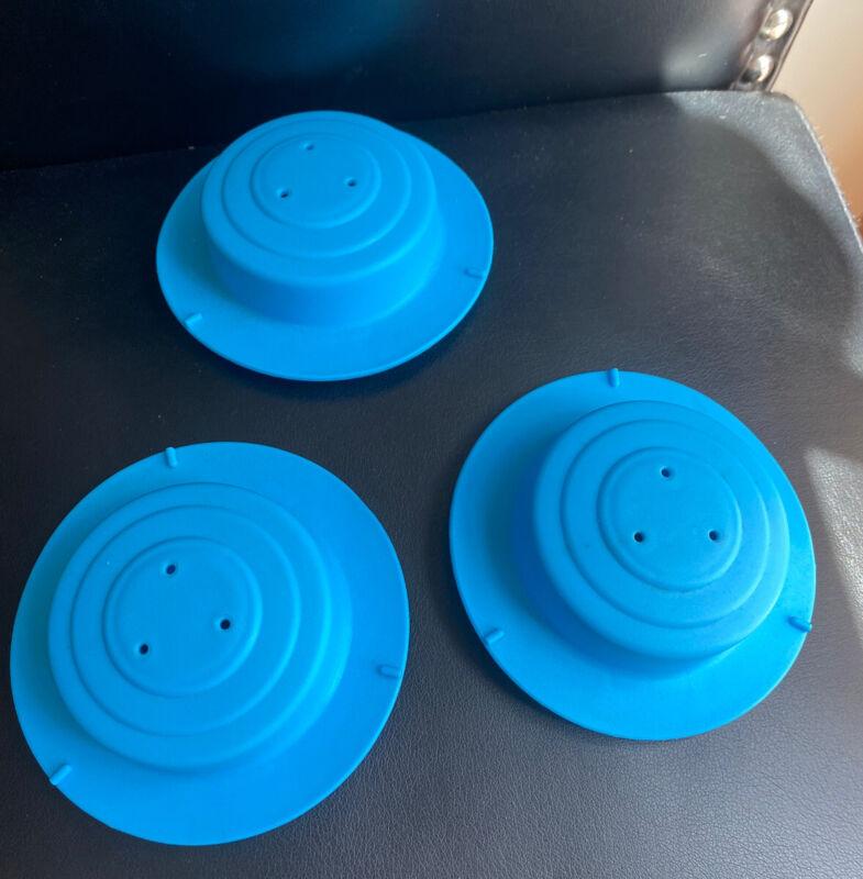 Evenflo Activity Exersaucer 3 Blue Plastic Cap Caps •Replacement Part