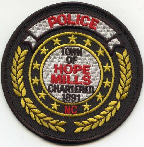 HOPE MILLS NORTH CAROLINA NC POLICE PATCH