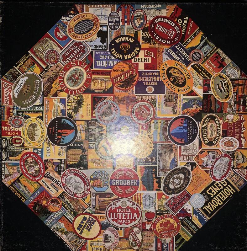 "Vintage Springbok 500+ Piece Puzzle ""Grand Hotels"" Complete"