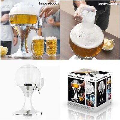 Dispensador Grifo Refrigerante de Cerveza Y Bebidas Capacidad 3,5 L. Enfriador