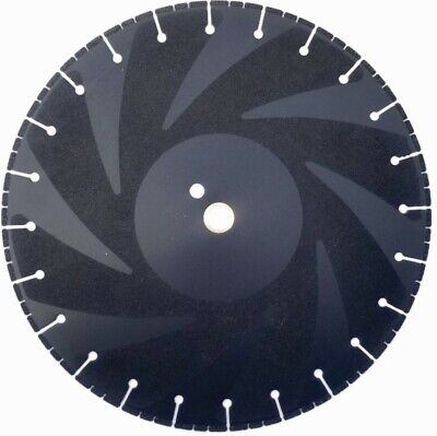 Heavy Duty 14-inch By 1-inch Metal Cutting Rescue Diamond Blade With Side Grit