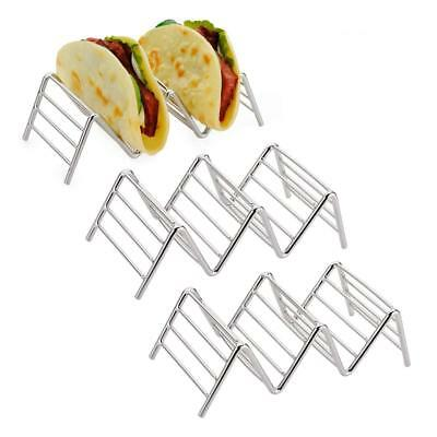 3-pack Taco Holder, Amazer Taco Stand Stainless Steel Rustproof Taco Rack Hold 2 (Taco Holders)