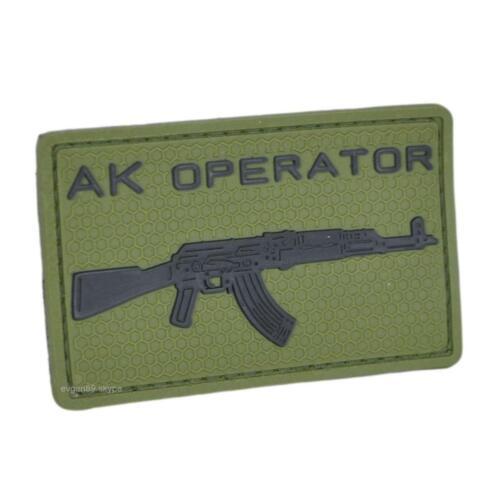 SPOSN / SSO Operator PVC Olive Patch
