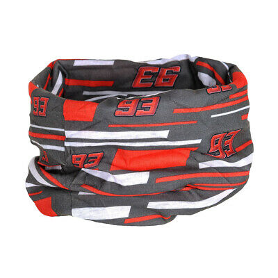 2019 Marc Marquez 93 MotoGP GREY Necktube Buff Neck Warmer Snood Bandana