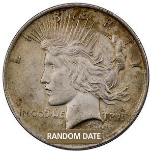 RANDOM-DATE-1922-1935-Peace-Silver-Dollar-1-Coin-VG-XF-Grades-SKU28606