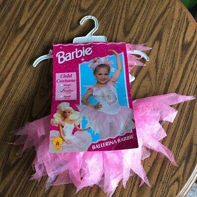 Ballerina Toddler Costume (Vintage Ballerina Barbie Costume Toddler 2-4 Brand)