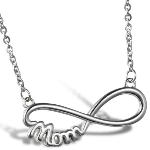 Stainless Steel Infinity Necklace for Mom Family Jewelry Mot