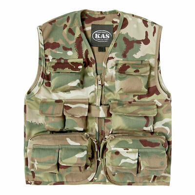 Kids Army Multi Terrain Camouflage Action Vest - Ages 3-13 Years Available
