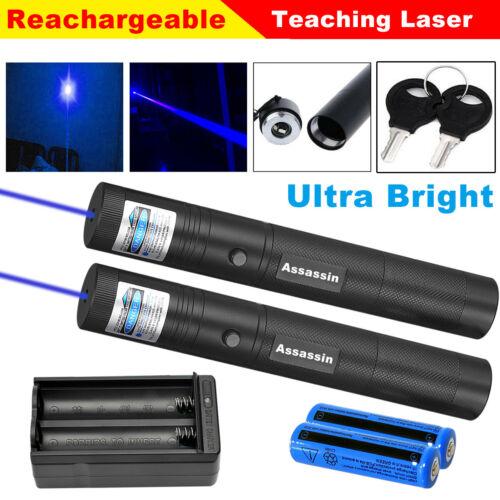 Assassin Blue Purple 1mw Laser Pointer 500Miles 405nm Lazer+