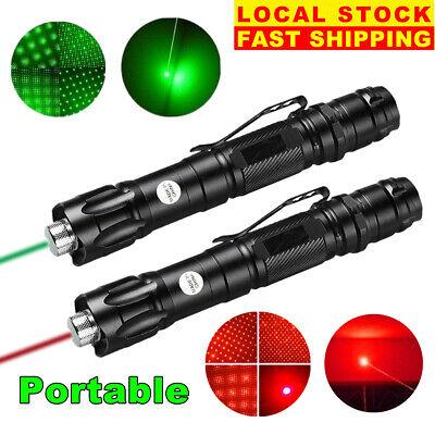 2x 900miles Red Green Laser Pointer Pen Star Beam Light Astronomy Lazer Torch Us