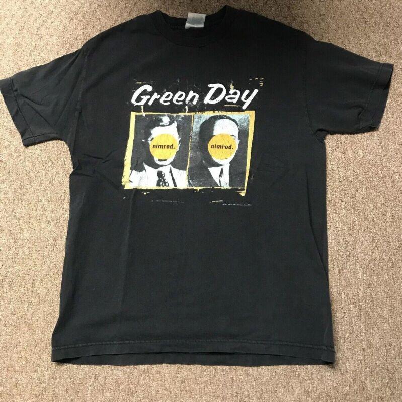 Green Day Nimrod 1997 Shirt Rare Vintage Authentic
