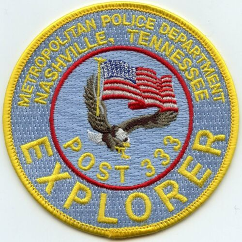 NASHVILLE TENNESSEE TN EXPLORER POLICE PATCH