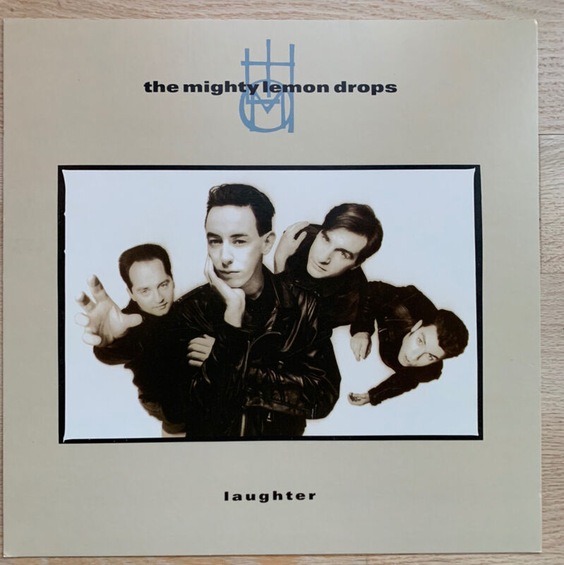 The Mighty Lemon Drops Laughter LP Flat Promo 12x12 Poster Double Sided