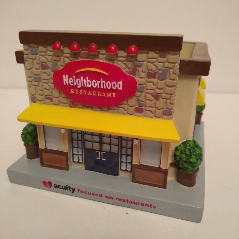 Acuity Insurance Village Collectibles #3 Neighborhood Restaurant Display