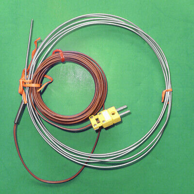 Omega Type K Extra-long 96 Thermocouple Probe .062 Dia Ungrounded Junction