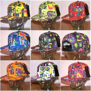 RETRO-VINTAGE-SUPREME-AZTEC-SNAPBACK-CAPS-FRESH-PRINCE-HATS-FLAT-PEAK-FITTED