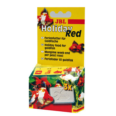 12 Stück JBL Holiday Red, 12 x 17 g Sparpack