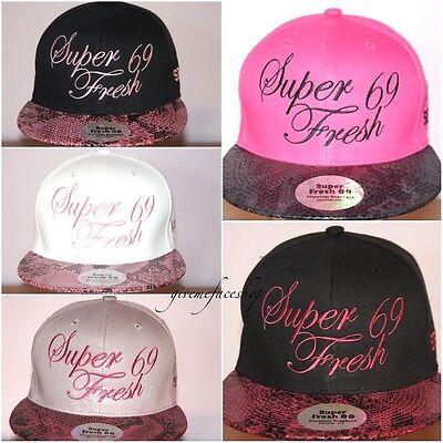 Snakeskin Snapback caps, Fresh, flat peak fitted hats, baseball, hip hop, bling